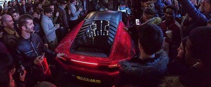 Daria Radionovau0027s Full Swarovski Lamborghini Huracan Is Russian London    Autoevolution