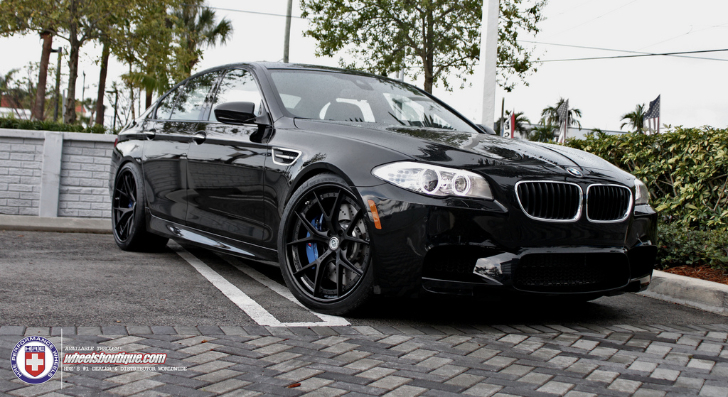 Darth Vader Is a BMW F10 M5 on HRE Wheels