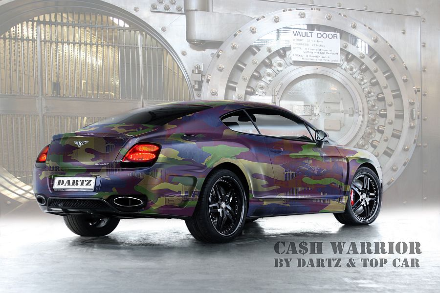 Dartz Ca H Camo Bentley Is All About Money Autoevolution