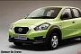 Datsun GO Cross Rendered