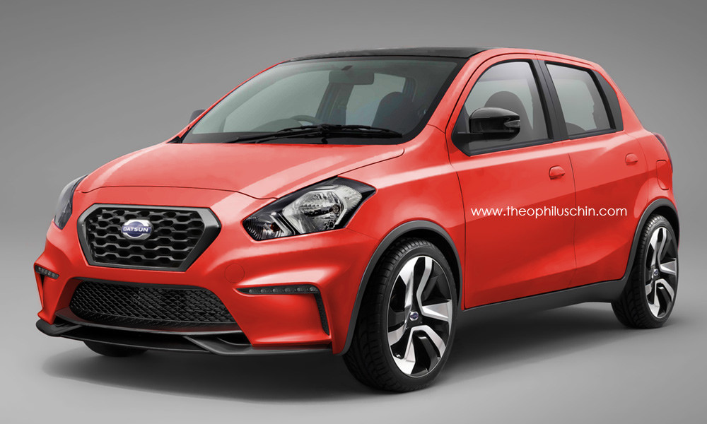 Datsun Go Nismo Looks Nifty, Will Never Happen - autoevolution