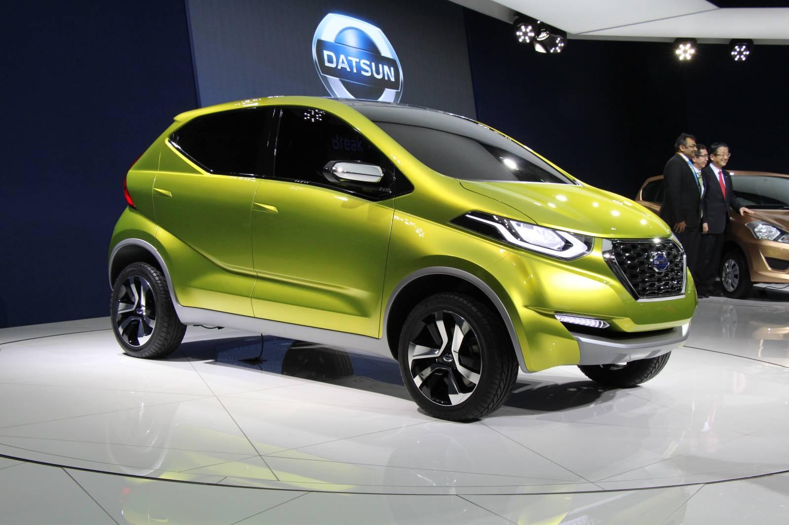 Datsun Unveils redi-GO Concept in New Delhi [Live Photos ...