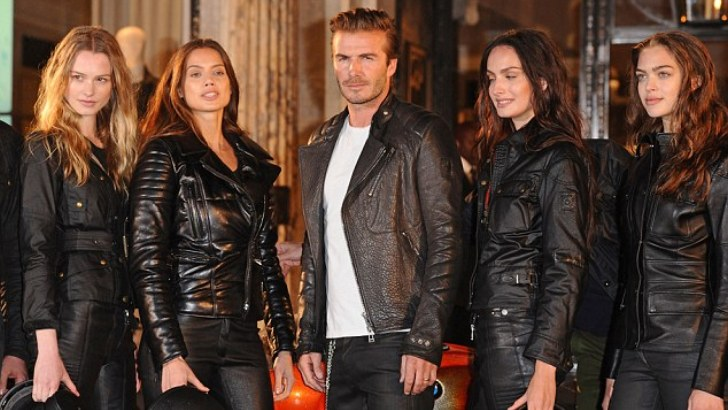David Beckham Launches the New Belstaff Store in London