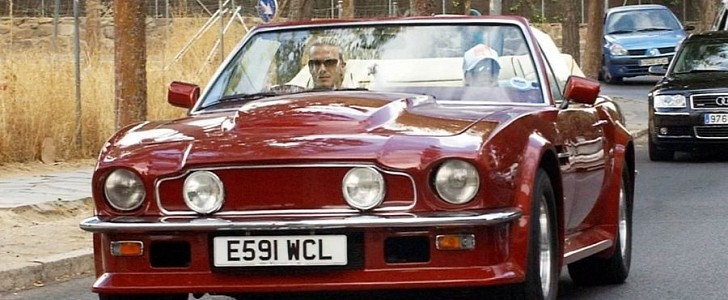 David Beckham S Aston Martin V8 Volante Could Be Yours If You Re Loaded Autoevolution