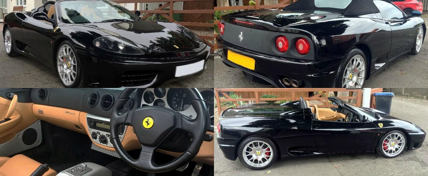 2004 Ferrari 360 Modena Coupe 2 Door 36l
