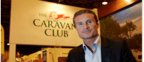 David Coulthard Opens Scottish Caravan & Outdoor Leisure Show 2011