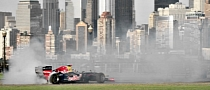 David Coulthard Thrashes Red Bull F1 Car in New Jersey and New York [Video]