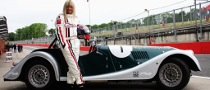 David Coulthard Tips Jo Wood for Racing Debut