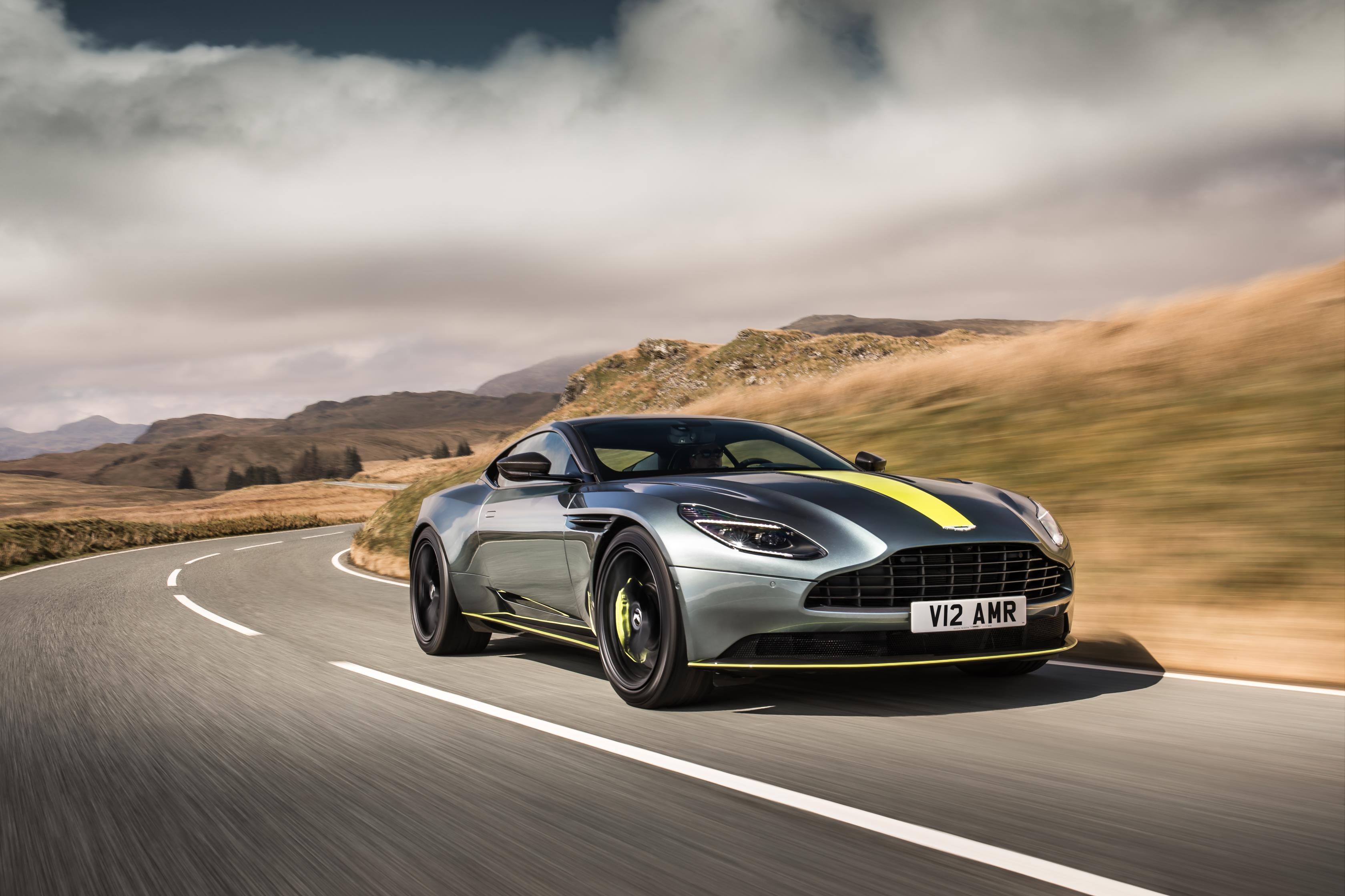 db11 amr officially debuts as the 630 hp aston martin - autoevolution