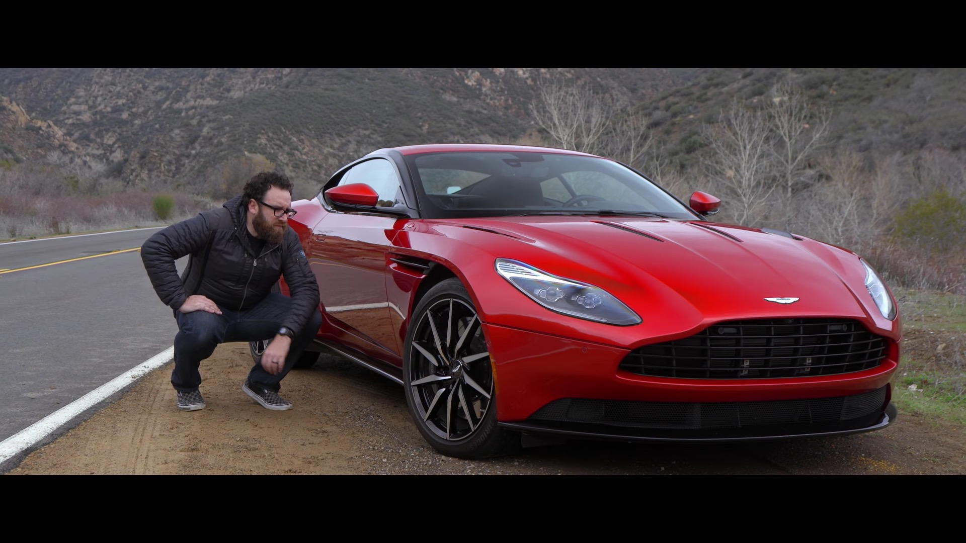 """aston martin db11 review finds the british bruiser """"very, very"""