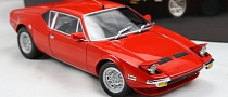 De Tomaso Pantera Revived by Gorgeous Scale Model [Photo Gallery]