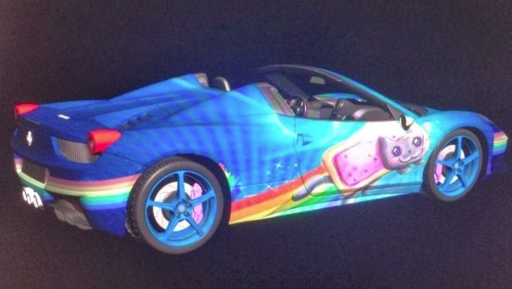 Deadmau5 Thinking About Wrapping His Ferrari In Nyan Cat Theme