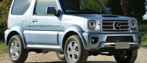 Dear Mercedes: Never Build a G-Jimny!