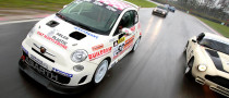 Debut of Trofeo Abarth 500 GB Marked by Big Media Track Day