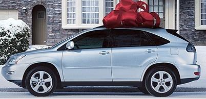 decorate your car for christmas autoevolution. Black Bedroom Furniture Sets. Home Design Ideas