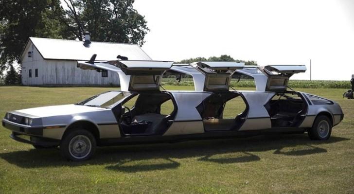 DeLorean Afficionado Makes Monster Truck, Limo and ...