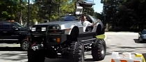DeLorean Becomes Monster Truck [Video]