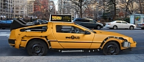 DeLorean Time Machine Taxi Takes You Back to the Future