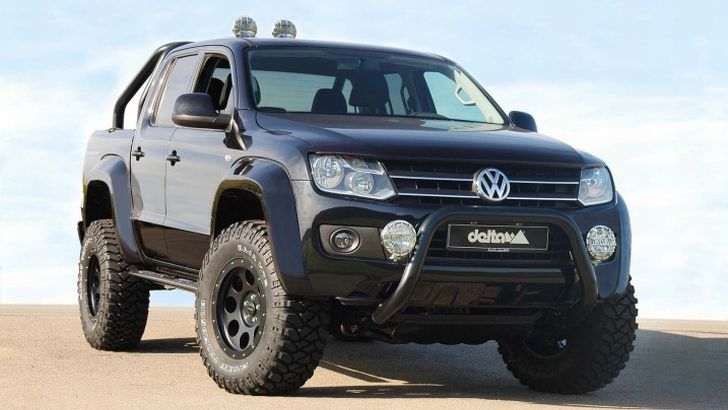 Lifted Vw Bus >> Delta 4x4 VW Amarok Beast Off-Road Kit Introduced - autoevolution