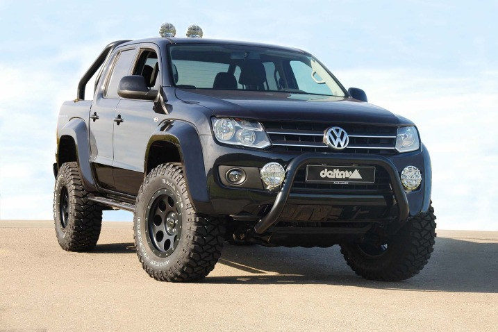 delta 4x4 vw amarok beast off road kit introduced. Black Bedroom Furniture Sets. Home Design Ideas