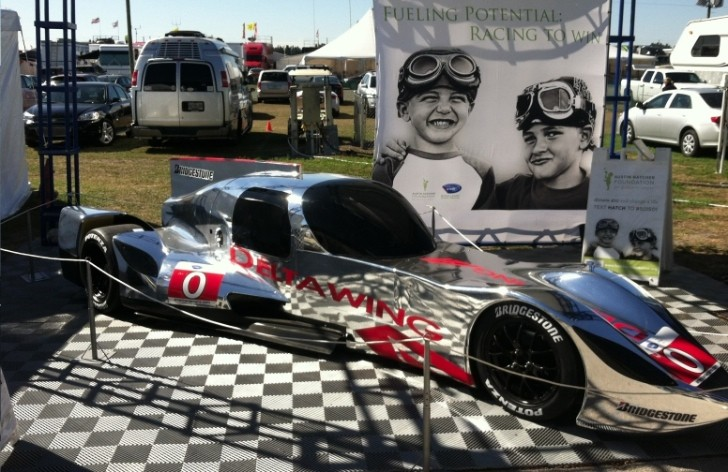 DeltaWing Getting Weirder as Chromed Coupe