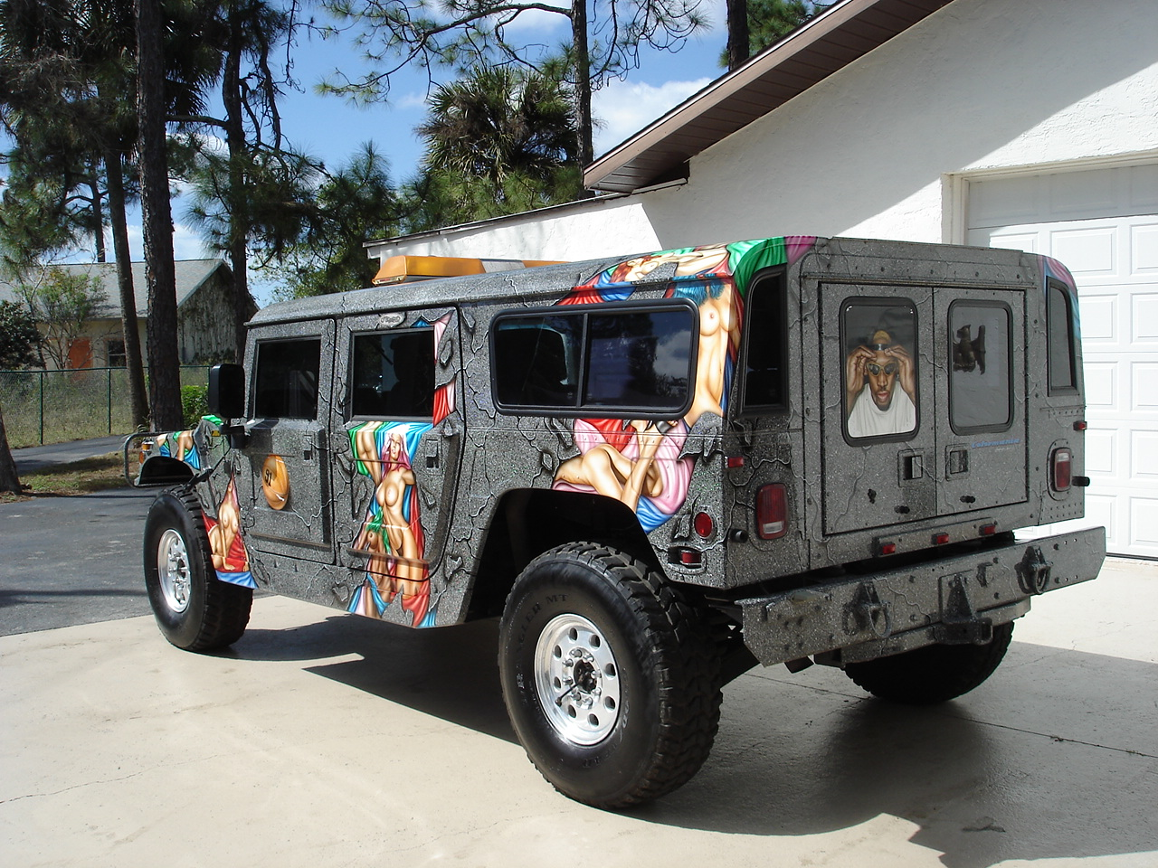 Dennis Rodman's Hummer H1 Is Up For Sale, But Will Kim Jong-un Buy