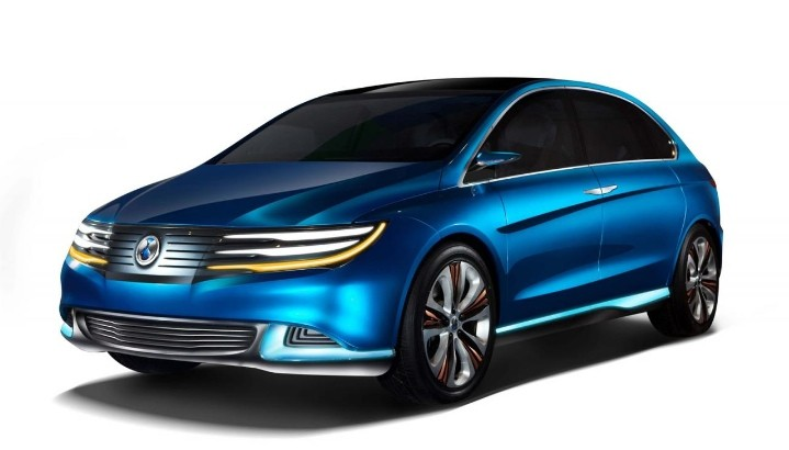 Denza EV Concept Unveiled at the Beijing Motor Show