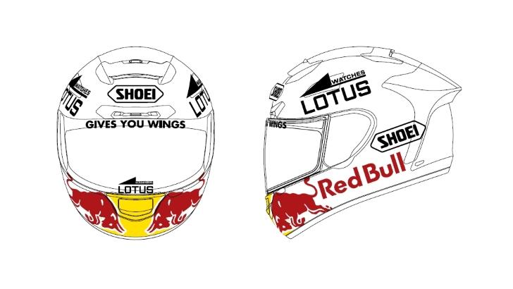 Design Helm design marc marquez helmet graphics for the catalunya and get