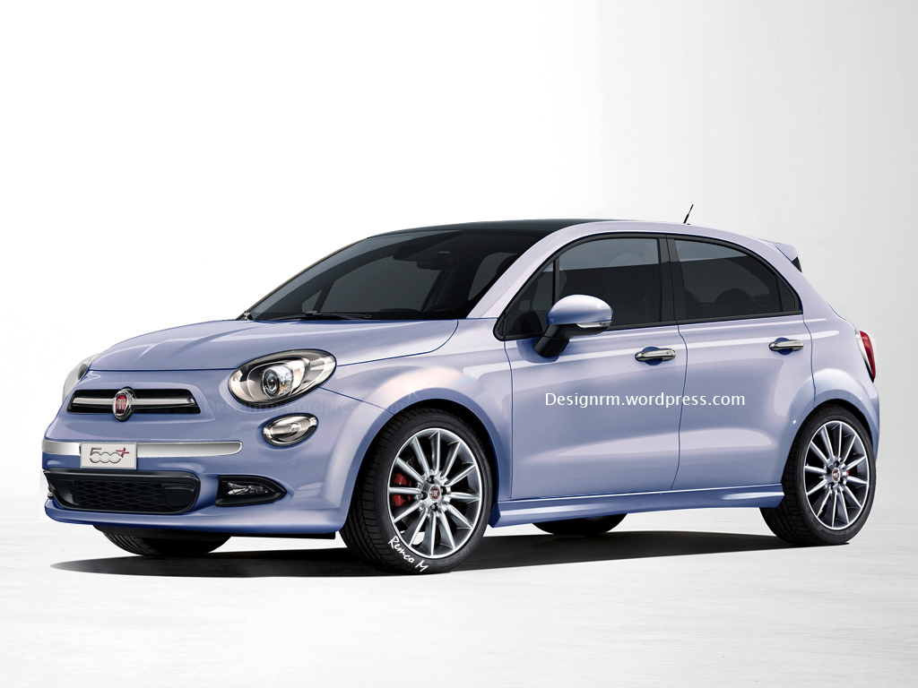Design Study Show Fiat 500 Plus a Replacement for the Punto