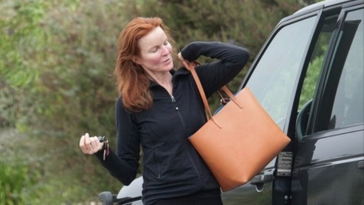 Desperate Housewives Marcia Cross Drives A Range Rover