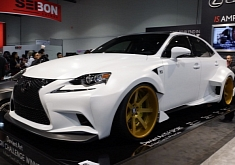DeviantArt Lexus IS Debuts at 2013 SEMA Show [Photo Gallery]