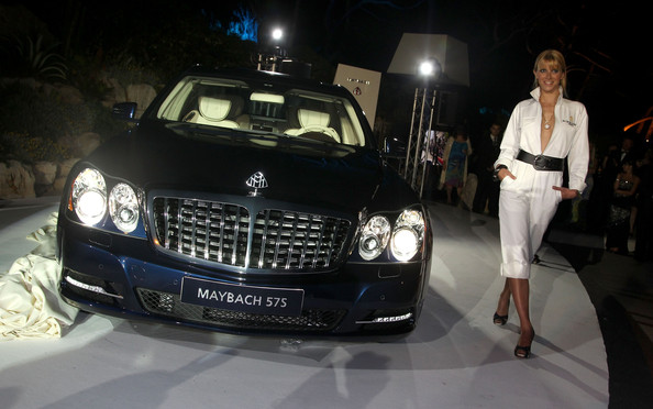 diamond studded maybach 62s unveiled in cannes - autoevolution