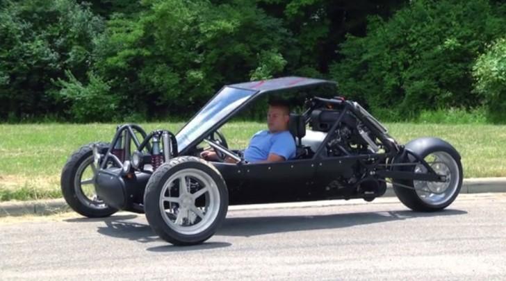 Reverse Trike Kit Car For Sale