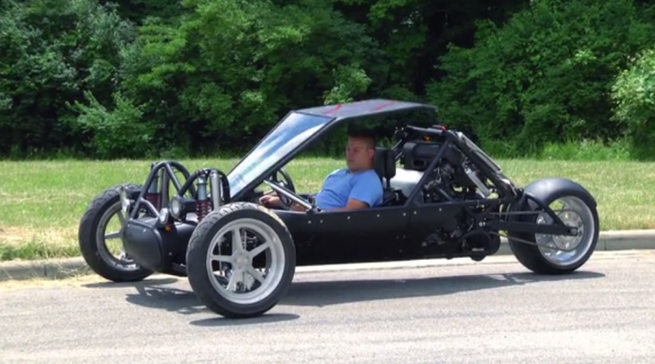 Diamondback Hayabusa Leaning Trike Autoevolution