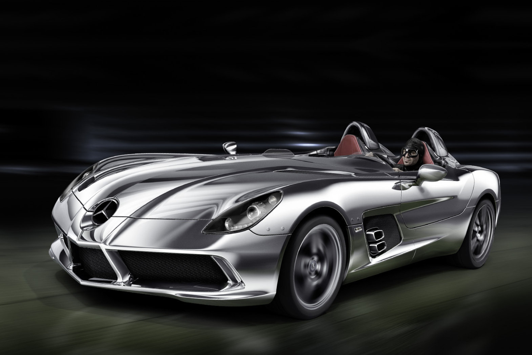 Did rihanna buy a mercedes benz slr stirling moss for for Buying a mercedes benz