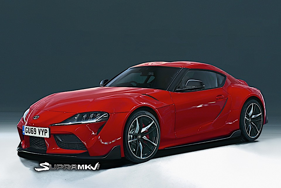 Did The 2020 Toyota Supra Just Break Cover In Online Leak