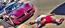 "Did ""The Game"" Get Run Over by a Fisker Karma?"