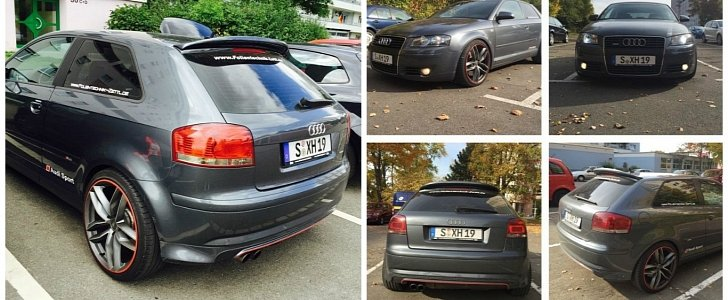 Did You Know You Can Buy The Audi A3 8p With A 3 2 Liter V6 And