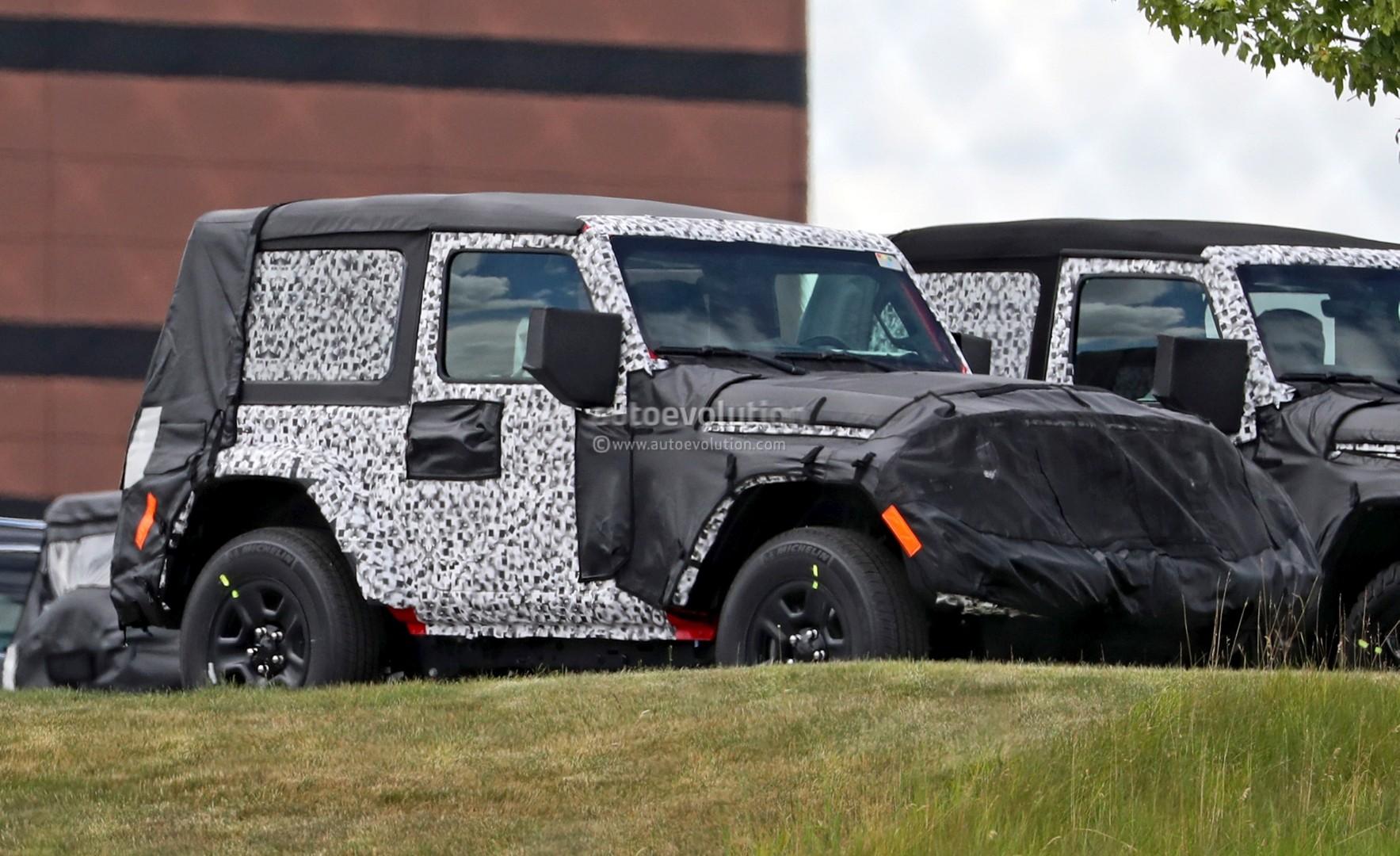 ... 2018 Jeep Wrangler JL Two Door Spied ...