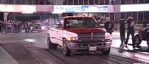 Diesel Ram Truck Runs 10-second Quarter Mile [Video]
