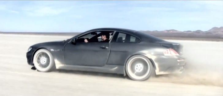 Dinan E39 BMW M5 vs G-Power E63 M6 in the Desert [Video]