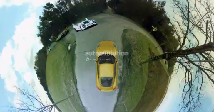 Discover That the World Is a Curve with the Porsche Cayman [Video]