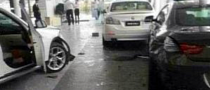 Disgruntled BMW X1 Owner Crashes into Dealership in China
