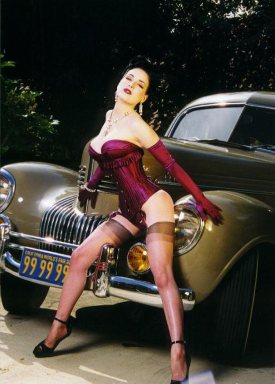 Dita Von Teese S 39 Chrysler New Yorker Up For Grabs