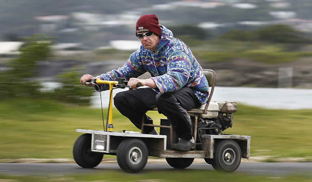 Diy Scooter By New Zealand Naenae Engineer Looks Highly