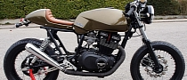 DIY Suzuki GSX400 Cafe-Racer Is Sleek and Slender [Photo Gallery]