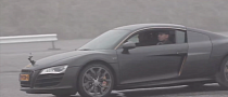 DJ Afrojack Learns to Drift [Video]