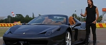DJ Bob Sinclar Picks up 458 Spider in Maranello [Video]