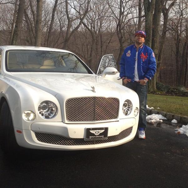 DJ Envy Buys A White Bentley Mulsanne