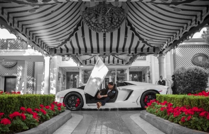 Dj Pauly D S New Lamborghini Used To Be Dan Bilzerian S